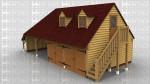 WS01421 Oak Frame