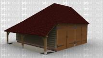 WS01543 Oak Frame