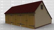 WS01570 Oak Frame