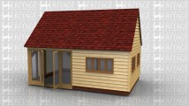 Office building or summerhouse to go in your garden, a small room partitioned off to create a store or toilet.