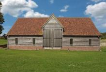 large oak barn