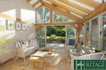 Oak Frame Garden Room Lean To