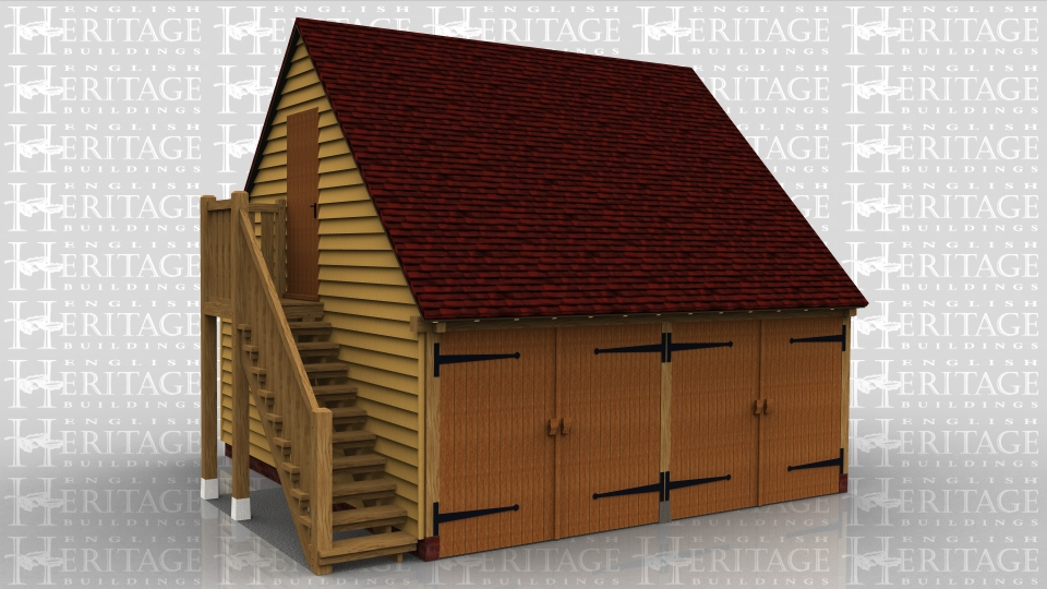 2 Bay Oak Frame Garage with Upper Floor Includes 2 sets of garage doors, external oak staircase, single door to access first floor and cut outs for 2 x velux windows. RRP £20,140 + vat Discounted price £16,784 + vat Special Garage Offer price NOW only £14,266 + vat Delivery is included to TN postcodes. Alternative postcodes […]