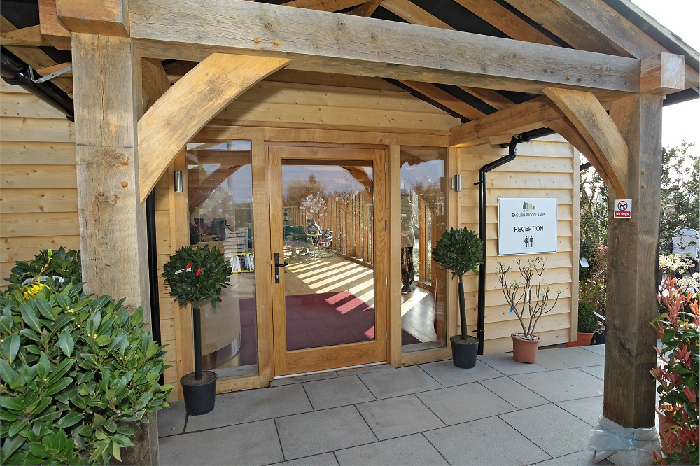 English Woodlands Oak Frame Office