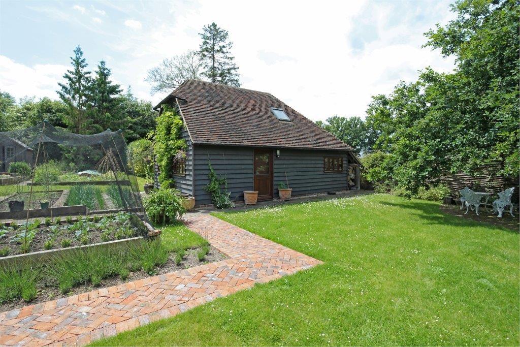 Oak frame garden studio