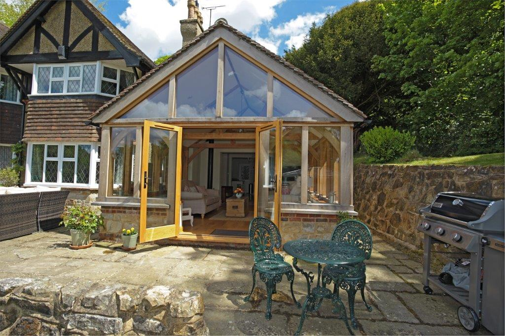 Oak framed home extensions ws01900 english heritage for Design my own home extension