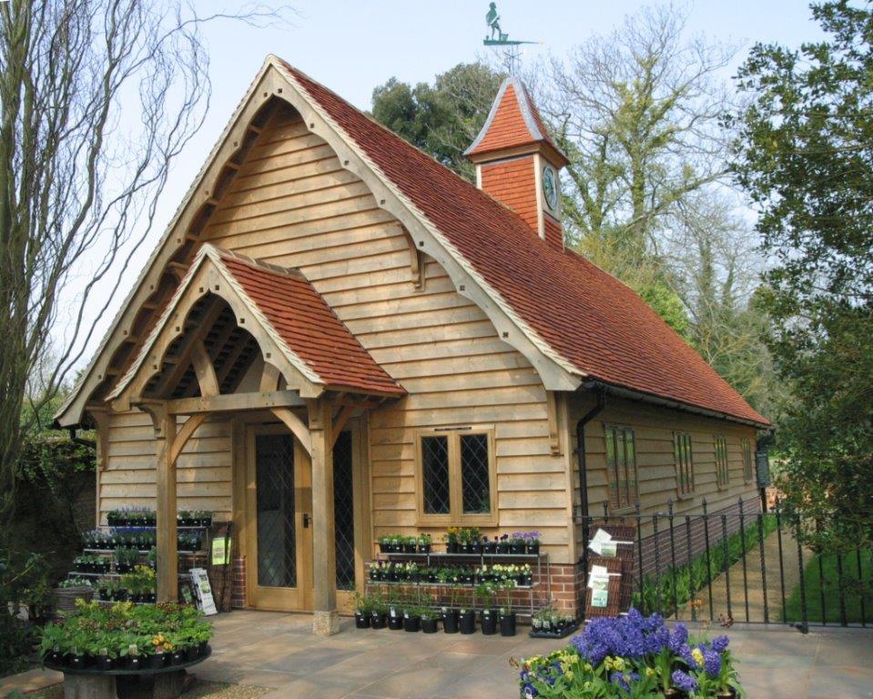 Bespoke oak building