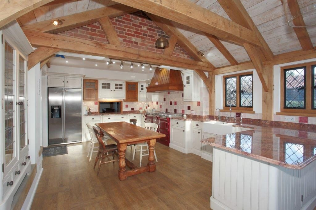oak frame kitchen