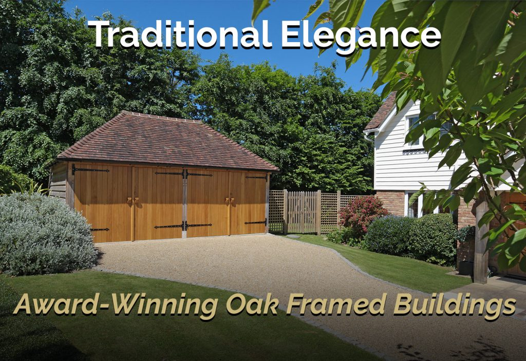 oak framed building