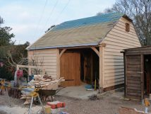 building oak garage
